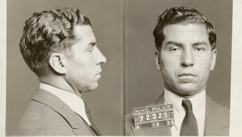 3 - Charles «Lucky» Luciano ble arrestert 18. april 1936 i New York. Dette bildet er blant 870.000 som nylig er frigitt fra New Yorks kommunale bildearkiv. - Foto: AP Photo/New York City Municipal Archives, NYPD Evidence Collection /