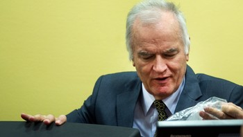 Ratko Mladic - Ratko Mladic under rettssakens start 16. mai. - Foto: POOL / Reuters