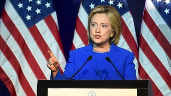 Hillary Clinton, presidentkandidat for Demokratene