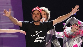Jimmy Jump under ESC-finalen
