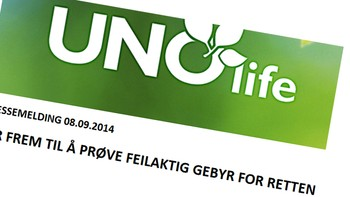 Uno Life - Foto: faksimile fra Uno Life /
