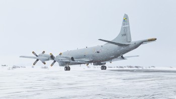 Orion P3 under øvelse Cold Response 2012