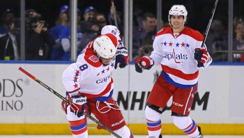 NHL/ NHL: Washington Capitals at New York Rangers
