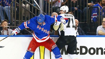 NHL/ NHL: Stanley Cup Playoffs-Pittsburgh Penguins at New York Rangers