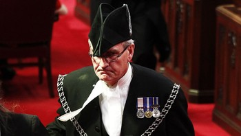 Sergeant-at-Arms Kevin Vickers - Arkivbilde av Sergeant-at-Arms ved Canadas Parlament, Kevin Vickers. - Foto: Chris Wattie / Reuters