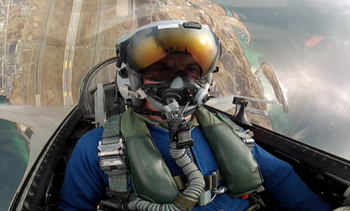 Video F16-pilot Eskil Amdal
