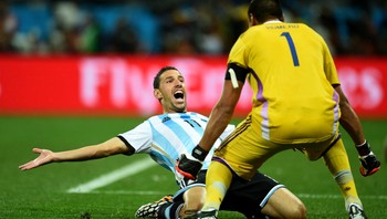 Argentina jubler for finaleplassen - Foto: Shaun Botterill - FIFA / FIFA via Getty Images