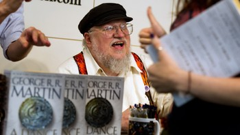 George RR Martin Book Signing