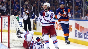NHL/ NHL: New York Rangers at New York Islanders