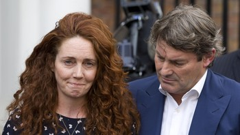 Rebekah Brooks og mannen Charlie