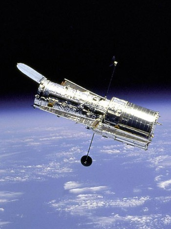 Hubble-teleskopet - Foto: NASA / AFP