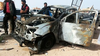 LIBYA-SECURITY/EXPLOSION