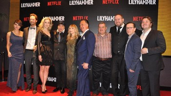 Premierefest for Lilyhammer i New York