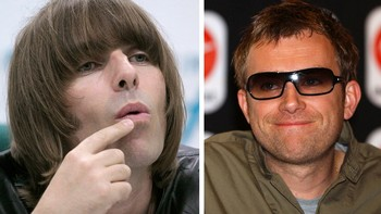Liam Gallagher og Damon Albarn