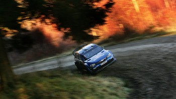 Petter Solberg i Rally Wales