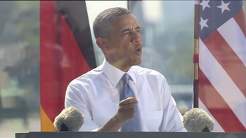 Obama talte i Berlin 19. juni 2013Reuters
