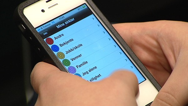 Video Ny mobilapp til hjelp for folk med Asperger - Foto: Nyhetsspiller /