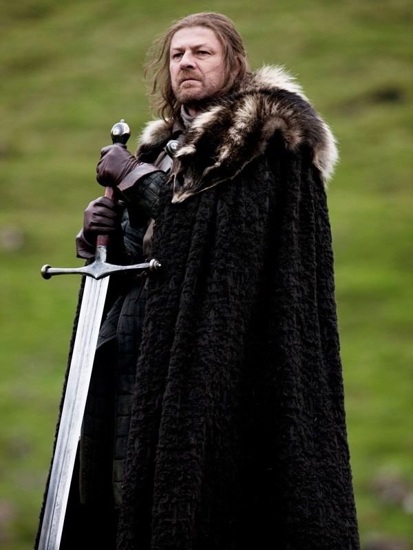 Sean Bean som Ned Stark - Sean Bean spiller en av hovedrollene som Ned Stark i Game of Thrones. - Foto: HBO /