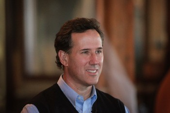 Rick Santorum - Foto: SCOTT OLSON / Afp