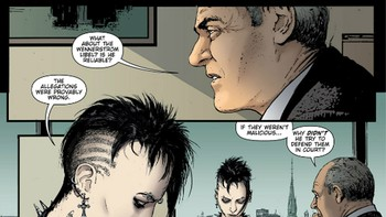 The girl with the dragon tattoo tegneserie - Foto: DC Comics /