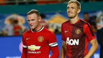 Darren Fletcher-Wayne Rooney - Foto: CHRIS TROTMAN / Afp
