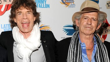 Mick Jagger og Keith Richards - Keith Richards (th) sammen med Stones-vokalist Mick Jagger. - Foto: Evan Agostini / Ap
