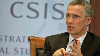 Jens Stoltenberg i Washington