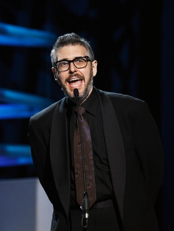 USA/ Radio host Ira Glass speaks during the 15th annual Webby Awards in New York