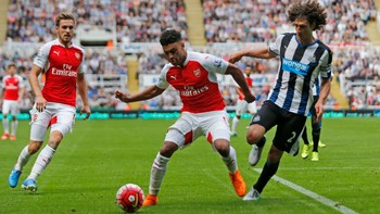 SOC/ Newcastle United v Arsenal - Barclays Premier League