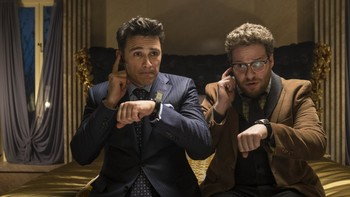 James Franco og Seth Rogen i The Interview - Foto: Ed Araquel /