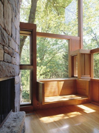 Louis Kahn - Louis Kahn. Stuen i Norman og Doris Fisher House, Hatboro, Pennsylvania, 1960–67