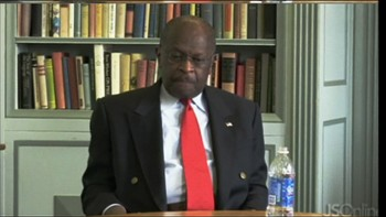Video Herman Cain tabber seg ut