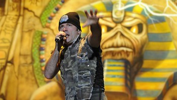 COSTA RICA-BRITAIN-MUSIC-IRON MAIDEN - Foto: YURI CORTEZ / AFP