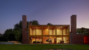 Louis Kahn - Louis Kahn. Steven and Toby Korman House, Fort Washington, Pennsylvania, 1971–73