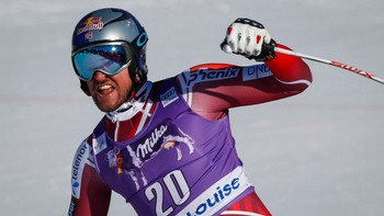 Canada WCup Lake Louise Skiing Aksel Lund Svindal