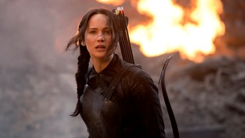 The Hunger Games: Mockingjay Part 1 - REKORDHELG: The Hunger Games: Mockingjay Part 1 fikk en pangstart på kinolerreter i Norge denne helga. - Foto: Murray Close /