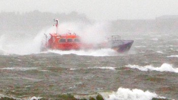 12392557 Storms lash Britain