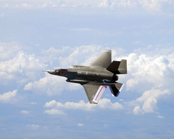 Joint Strike Fighter F-35 JSF. - Foto: Lockheed / Scanpix/AFP