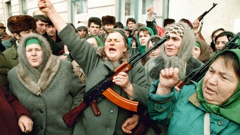 Anti-russisk protest i desember 1994