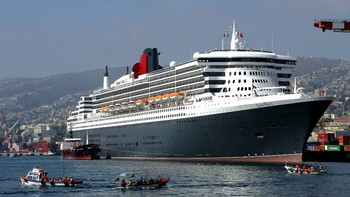 Queen Mary 2 - Foto: Eliseo Fernandez / Scanpix/Reuters