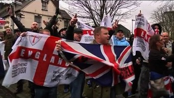 Defence league - En anti-muslimsk demonstrasjon regi av English Defence League ble arrangert i Luton 5 februar i år.