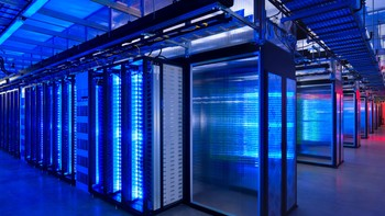 APTOPIX NSA Phone Records Big Data Photo Gallery - Serverpark. Illustrasjonsfoto fra Atopix NSA. - Foto: Alan Brandt / Ap
