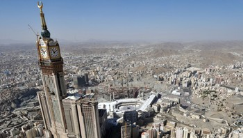 Mecca Royal Clock Hotel Towers i Mekka