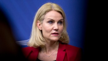 Belgium EU Summit Helle Thorning-Schmidt