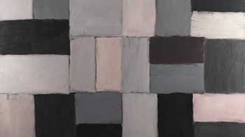 Sean Scully: Grey Wolf (2007) / olje på aluminium / 279,4 x 350,5 cm
