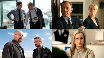 Emmys 2014 - FLERE FAVORITTER: «True Detective», «House of Cards», «Breaking Bad» og «Orange Is the New Black» er alle blant de nominerte til årets Emmy-utdeling 25. august. - Foto: HO / NTB Scanpix