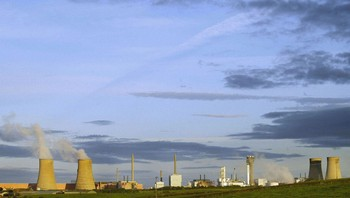 Sellafield i Nord-England.