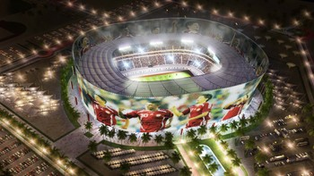 The Al-Rayyan stadium