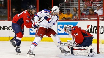 NHL/ NHL: Stanley Cup Playoffs-New York Rangers at Washington Capitals