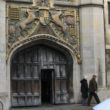 Christs College Cambridge - Christs College Cambridge - Foto: Ivar Grydeland / NRK